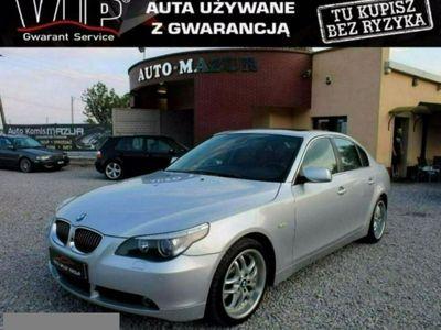używany BMW 333 seria 5 4.4dm3 KM 2005r. 192 000km 545i*333KM*LPG BRC*Zarejestrowana*Gwarancja*