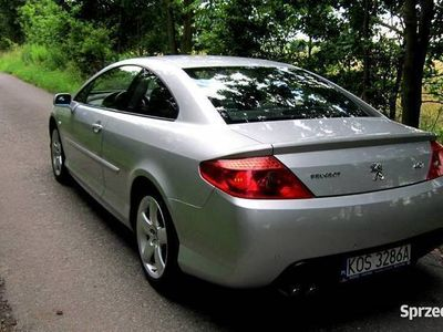 używany Peugeot 407 Coupe 3.0V6+ Gaz, Manual, Full opcja