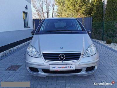 używany Mercedes A170 1.7dm 116KM 2004r. 188 000km