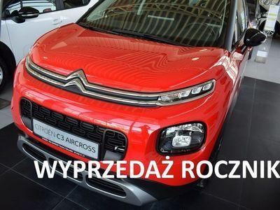 używany Citroën C3 Aircross 1.2dm3 110KM 2018r. 5km 1,2 110KM Shine - rabat 8000 zł Wyprzedaż 2018