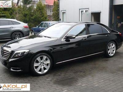 używany Mercedes S500 klasa S S500 4 Matic Long 9 G T 4.64 Matic Long 9 G Tronic Full automatyczna klima.