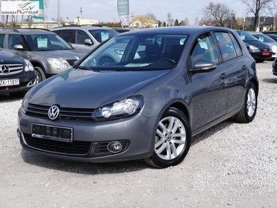 używany VW Golf VI Golf 2dm3 110KM 2009r. 123 623km VW2,0 T.D.I 110 km Klimatronic