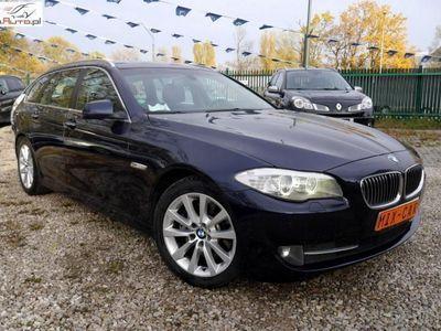 brugt BMW 525 seria 5 2.0dm3 218KM 2012r. 182 000km d 218PS X-Drive Skóra Duża Navi Bi-xenon PDC Full!