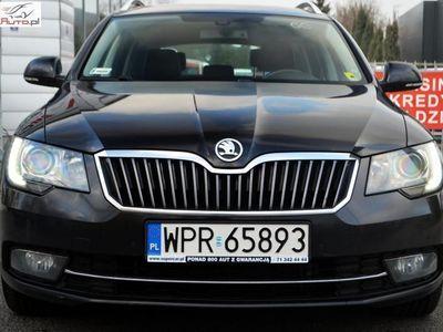 używany Skoda Superb Superb 2dm3 170KM 2014r. 220 437km 170 KM, Polski Salon, Serwis ASO, FV 23%,Gwarancja!!