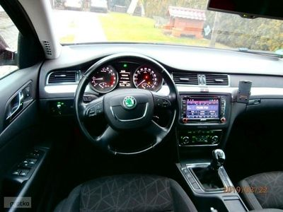 used Skoda Superb 2dm 140KM 2011r. 121 500km