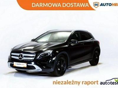 używany Mercedes GLA200 DARMOWA DOSTAWA, Xenon, LED, Navi, Klima auto, Serwis ASO