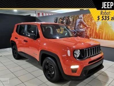 używany Jeep Renegade Face lifting Sport 1.0 Turbo 120KM Tempomat+ Koło Dojazdowe+ Klimatyzacja