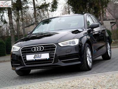 używany Audi A3 1.4dm3 125KM 2015r. 22 000km Salon PL*1 Właściciel*F-VAT 23%*Bi-Xenon*Sportback*Serwisowany