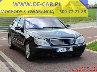 używany Mercedes S500 Klasa S W220248 TYS KM, INST LPG, PERFEKCYJNY STAN
