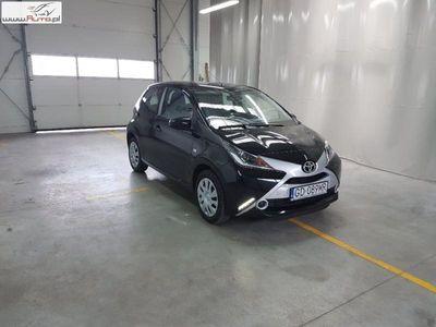 used Toyota Aygo Aygo 1dm3 69KM 2017r. 15 091km 14-18,1.0 VVT-i X EU6