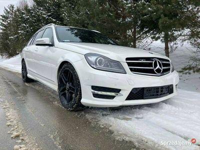 używany Mercedes C250 CDI 4matic 2013r pakiet AMG 160tys km