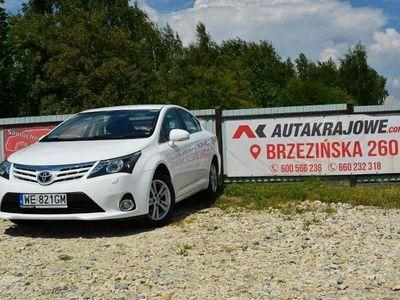 używany Toyota Avensis 2.0dm3 124KM 2013r. 202 000km 2.0 D4D 124KM, navi, 1 wł, salon PL, fvat 23%, gwarancja