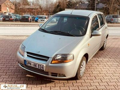 używany Chevrolet Kalos 1.4dm 83KM 2003r. 137 321km