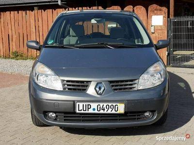 używany Renault Scénic II 1.6B, 2006r, Panorama, Klima-tronik, Po obsłudze rozrząd i olej II (2003-2009)