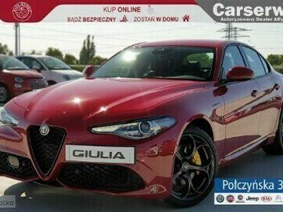 używany Alfa Romeo Giulia Veloce 2.0 280 KM | Czerwony - Alfa Rosso / Czarna skóra | MY2020