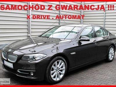 używany BMW 520 SERIA 5X DRIVE + Automat + Skóra + Navi + 100% Serwis !!!
