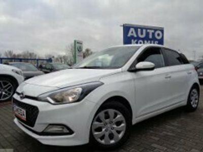 używany Hyundai i20 II Salonowy Serwisowany Fabryczny GAZ 1 Właściciel