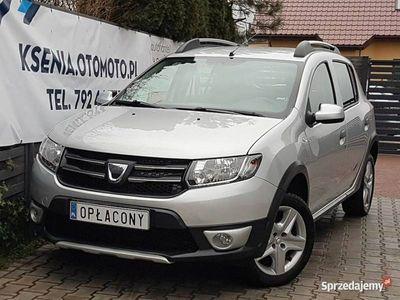 używany Dacia Sandero II 0.9Tce 90KM,Navi,Klima,Tempomat,49tyśkm,Parktronic,Full Serwis
