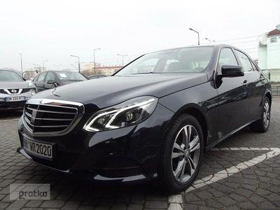 used Mercedes 200 Klasa E W212CGI LIFT Bogate Wyposażenie Bezwypadkowy