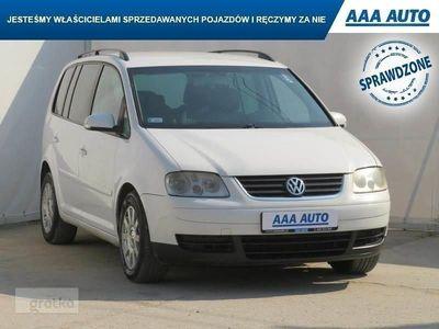 used VW Touran I Salon Polska, Klimatronic,ALU, El. szyby,