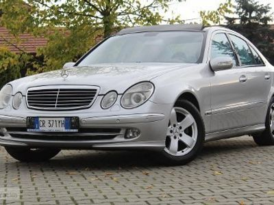 używany Mercedes 280 Klasa E W211 AVANTGARDECDI automat, panorama bardzo ład