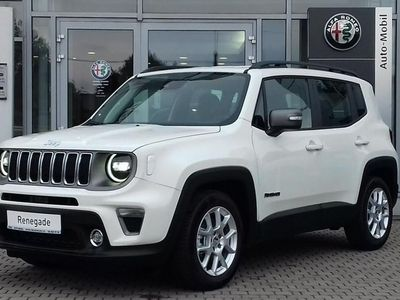 używany Jeep Renegade Face lifting Limited 1.3 150KM Automat LED Alarm