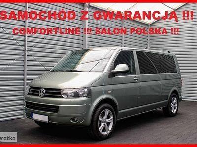 używany VW Multivan HIGHLINE + LONG + Salon PL + 7 Osób + Navigacja + Skóra !!!