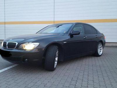 używany BMW 750 i E65 4.8 V8 380 KM 2008r Warszawa Full opcja Radar