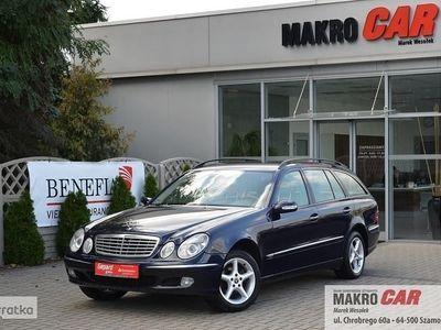 używany Mercedes 220 Klasa E W211CDI - ALUFELGI - SKÓRA BEŻOWA - STAN BARDZO DOBRY !!!