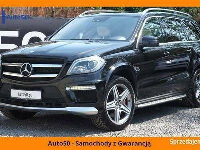 używany Mercedes GL63 AMG AMG 558KM Noktowizor SALON POLSKA FV23%