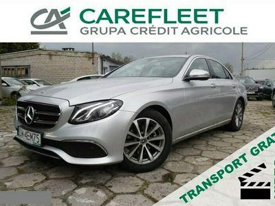 używany Mercedes E220 2dm 195KM 2019r. 33 532km