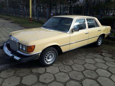 używany Mercedes 300 W116, 1980, turbo diesel, drugi właściciel