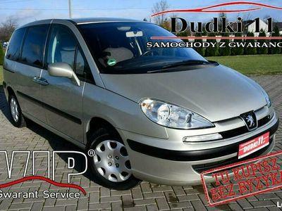używany Peugeot 807 2dm 136KM 2005r. 188 000km