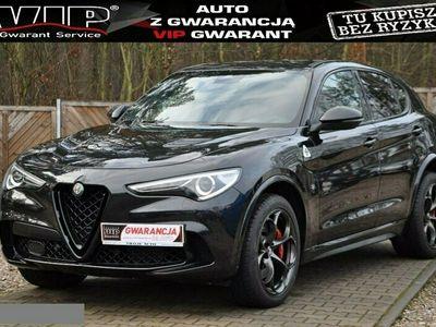 używany Alfa Romeo Stelvio GWARANCJA 2.9 V6 510PS AT8 Q4 BiTurbo ACC PanoramaDach Zamiana