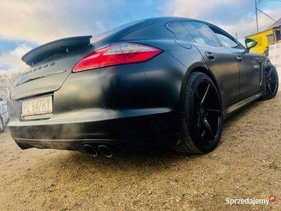 używany Porsche Panamera 4.8dm 400KM 2012r. 106 000km
