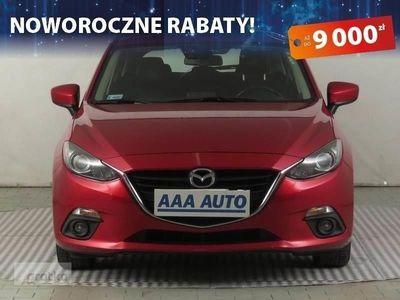 używany Mazda 3 III Salon Polska, Serwis ASO, VAT 23%, Klimatronic, Tempomat
