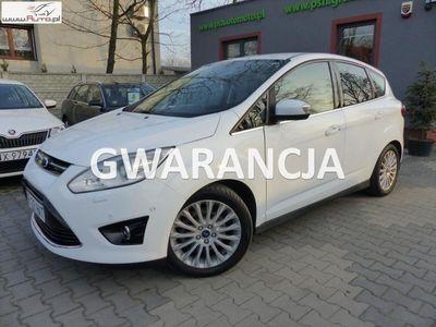brugt Ford C-MAX 2dm3 140KM 2013r. 127 200km 2.0TDCI Titanium Plus Automat Navi Xenon Skóry Gwarancja
