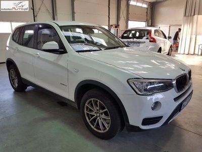 used BMW X3 X3 2dm3 150KM 2017r. 48 084km [F25]sDrive18d Advantage aut