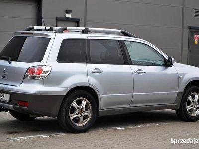 używany Mitsubishi Outlander 4X4 2,0 DOHC Benzyna 136KM 2004r HAK Kl
