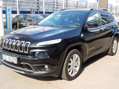 used Jeep Cherokee 2dm3 170KM 2014r. 105 797km Limited