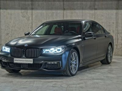 używany BMW 750 3dm 400KM 2018r. 8 996km