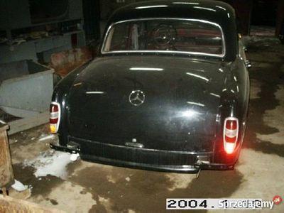 używany Mercedes 190 Pontonbenzyna 1958r do skończenia.