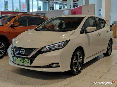 używany Nissan Leaf rabat: 12% (17 450 zł) N-Connecta + Światła Full LED Perłowy
