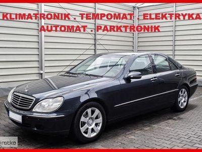 używany Mercedes 320 Klasa S W220AUTOMAT + ZADBNAY + Klimatronik + Elektryka + Parktronik !!