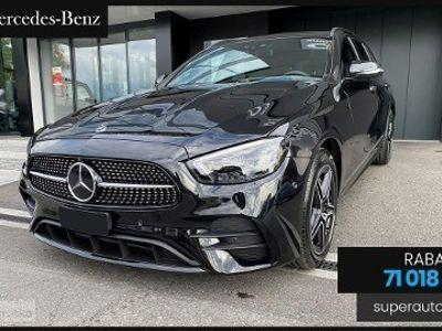 używany Mercedes 220 Klasa E 2.04MATIC (194KM) | AMG | + Premium Plus + Hak + Disctronic Pl
