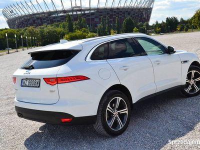 używany Jaguar F-Pace diesel panorama alu 20 portfolio GWARANCJA