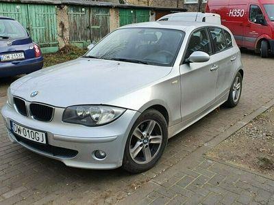 używany BMW 118 2dm 122KM 2006r. 163 000km