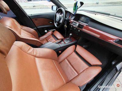 używany BMW 535 E61 D BiTurbo Panorama Rude Grzane pompowane Skóry