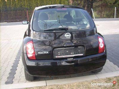 używany Nissan Micra K 12 2005r 1.2 benzyna oryginalny lakier