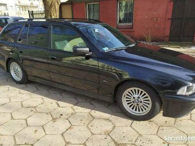 używany BMW 525 E39LPG lift shadowline,xenon automat Webasto